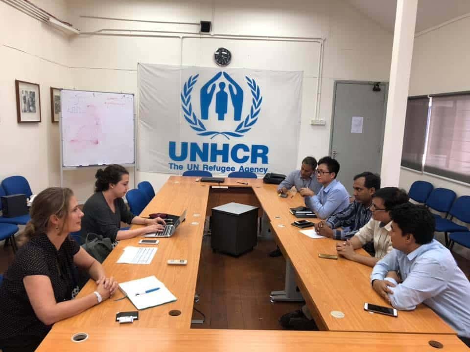 Meeting UNHCR Springfactor