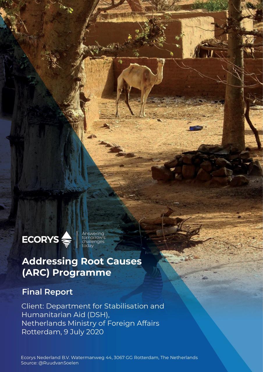 Report evaluation Mali Dogon